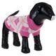 Pet Life Arygle Ribbed Pet Sweater Pink MD