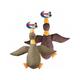 SPOT Multi-Textured Daisy Duck Dog Toy