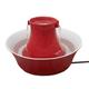 Drinkwell Red Ceramic Avalon Pet Fountain