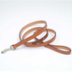 Personalized 6ft Leather Dog Lead 1 in Tan