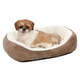 Quiet Time Boutique Cuddle Pet Bed Taupe Small