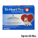 Tri-Heart Plus for Dogs up to 25lbs Blue 6ct