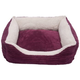 Iconic Pet Imperial Purple Luxury Lounge Pet Bed L
