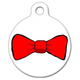 Bow Tie Pet ID Tag Small
