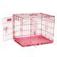 Petmate Pink 2-Door Training Retreat Kennel
