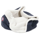 Majestic Pet 17 inch Navy Wales Burrow Pet Bed