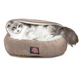 Majestic Pet 18 inch Stone Suede Canopy Pet Bed