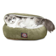 Majestic Pet 18 inch Sage Suede Canopy Pet Bed
