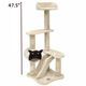 Majestic Pet  47.5 inch Casita Cat Tree Furniture