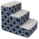 Majestic Pet Navy Blue Links Pet Stairs 4 Step