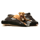 Majestic Outdoor Black Coral Rectangle Pet Bed LG
