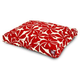 Outdoor Red Plantation Rectangle Pet Bed  SM