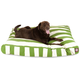 Majestic Outdoor Sage Stripe Rectangle Pet Bed LG