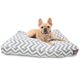 Majestic Outdoor Gray Chevron Rectangle Pet Bed SM