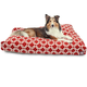 Majestic Outdoor Red Links Rectangle Pet Bed LG