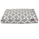 Majestic Outdoor Gray Trellis Rectangle Pet Bed LG