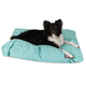 Majestic Outdoor Teal Navajo Rectangle Pet Bed SM