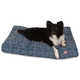 Majestic Outdoor Navy Navajo Rectangle Pet Bed SM