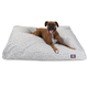 Majestic Outdoor Grey Towers Rectangle Pet Bed SM