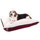 Majestic Pet Burgundy Rectangle Pet Bed 42x60