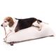 Majestic Pet Khaki Rectangle Pet Bed 42x60