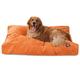 Majestic Pet Orange Villa Rectangle Pet Bed Large