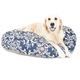 Majestic Outdoor Navy French Qtr Round Pet Bed LG