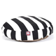 Majestic Pet Outdoor Black Stripe Round Pet Bed LG
