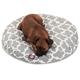 Majestic Pet Outdoor Grey Trellis Round Pet Bed SM