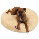 Majestic Outdoor Citrus Towers Round Pet Bed LG