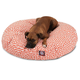 Majestic Outdoor Orange Towers Round Pet Bed LG