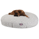 Majestic Pet Outdoor Grey Towers Round Pet Bed SM