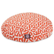 Majestic Pet Outdoor Orange Aruba Round Pet Bed LG