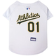 MLB Oakland Athletics Dog Jersey Large