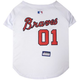 MLB Atlanta Braves Dog Jersey X-Small