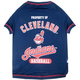 MLB Cleveland Indians Dog Tee Shirt X-Small