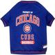 MLB Chicago Cubs Dog Tee Shirt Large