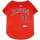 MLB Los Angeles Angels Dog Jersey X-Small