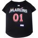 MLB Miami Marlins Dog Jersey Large