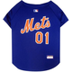 MLB New York Mets Dog Jersey Large