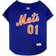 MLB New York Mets Dog Tee Shirt Large