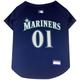 MLB Seattle Mariners Dog Jersey X-Small