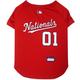 MLB Washington Nationals Dog Jersey Large