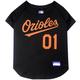 MLB Baltimore Orioles Dog Jersey Large