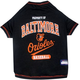 MLB Baltimore Orioles Dog Tee Shirt X-Small