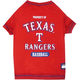 MLB Texas Rangers Dog Tee Shirt X-Small