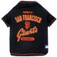 MLB San Francisco Giants Dog Tee Shirt Large