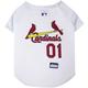 MLB St. Louis Cardinals Dog Jersey X-Small