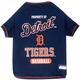 MLB Detroit Tigers Dog Tee Shirt X-Small