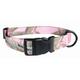 Realtree Pink Camo Nylon Dog Collar Large